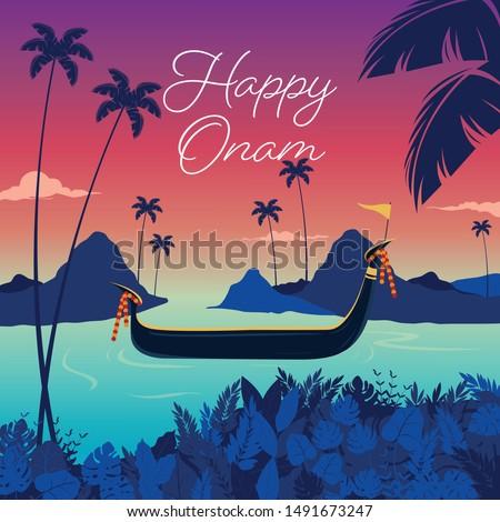 onam festival, kerala, festival, boat race,scenery