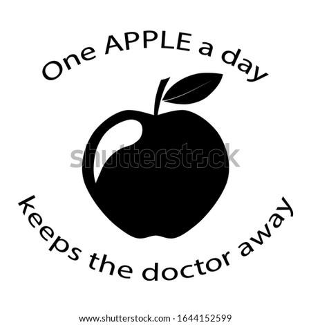 one appel logo icon vector Photo stock ©