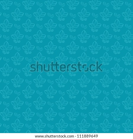 One Color Background Blue One Color Blue Flower