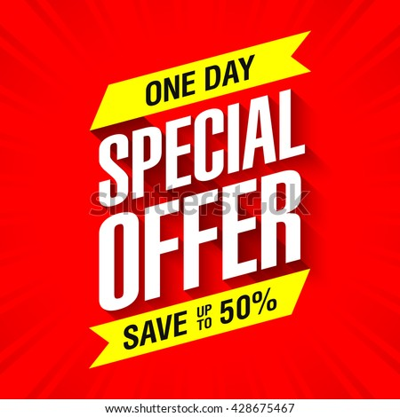 one day special offer sale