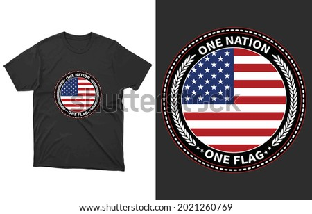 one flag one nation t shirt