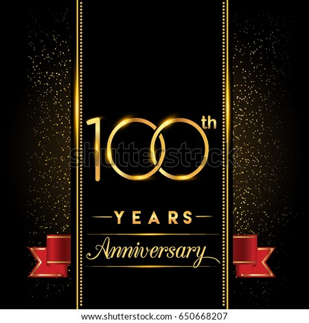 stock-vector-one-hundred-years-anniversary-celebration-logotype-th-anniversary-logo-with-confetti-golden