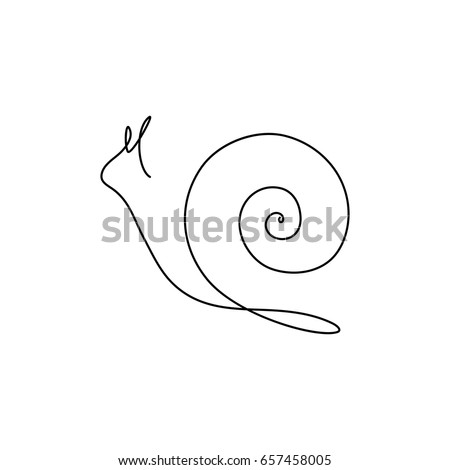 one line design silhouette of