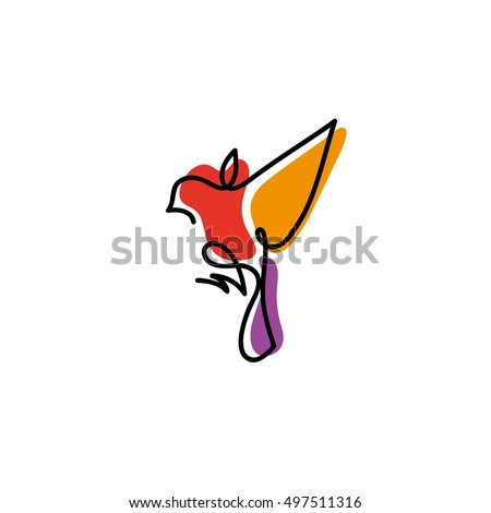 stock-vector-one-line-sparrow-flies-design-silhouette-hand-drawn-minimalism-style-vector-illustration