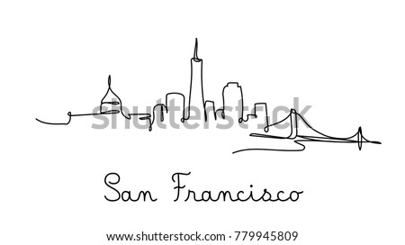 one line style san francisco
