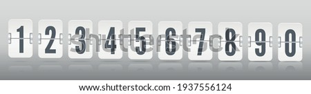 one line vector numeric