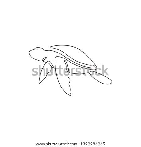 one single line drawing of big