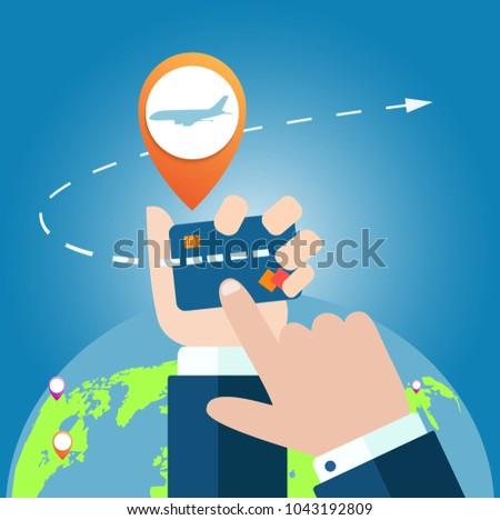 Online app for tickets order. Internation flights.