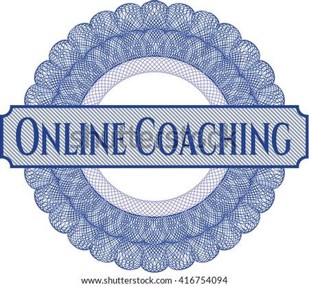 Online Coaching money style rosette