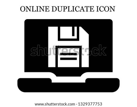 online Diskette icon. Editable online Diskette icon for web or mobile.