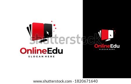online education logo designs