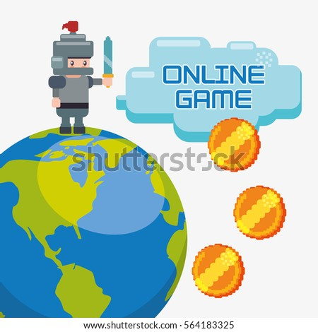 online game charatcer world