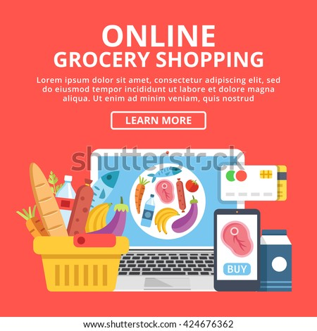 online grocery shopping web