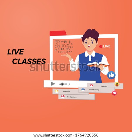 online learning, e learning, Live classes, online classes for kids, study online, digital learning, digital classes,