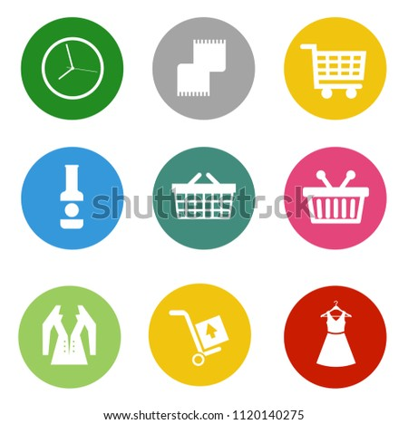 online marketing, e-commerce and shopping Icons, online business store - vector shopping and sale illustrations collection