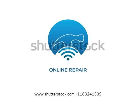 ONLINE REPAIR LOGO DESIGN #1183241335