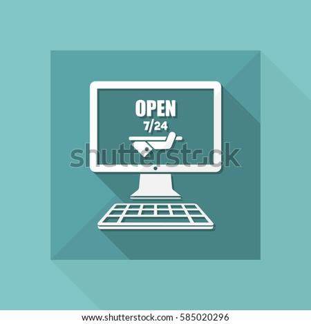 online services open 7 24