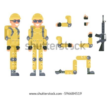 online shooter gamer soldier