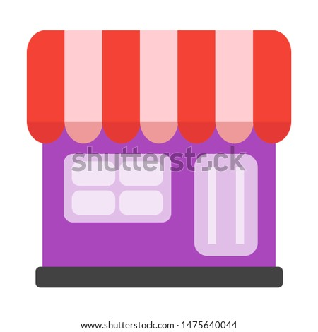 Online Shop  icon vector Logo illustration and design.  A marketplace commerce and e-commerce system  element.  Can be used for web and mobile development suitable for infographic