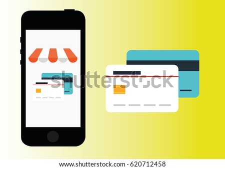 online shoping  credit card