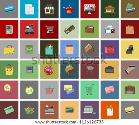 Online shopping e-commerce concept. business order item store online, tablet and Pay by credit card quick and easy.Can used for infographic,web advertising. Market vector illustration