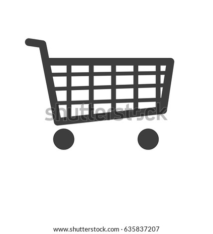 Online Shopping Sign icon