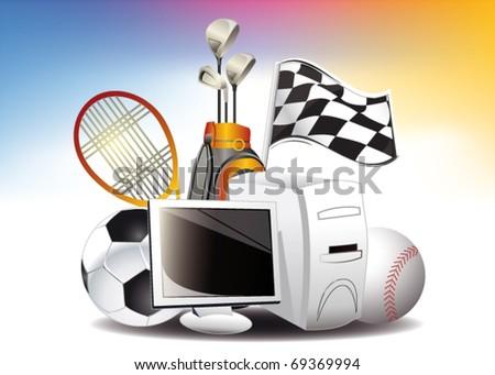 online sport icon
