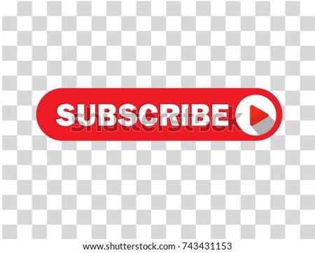 Online Subscribe Vector Button Design