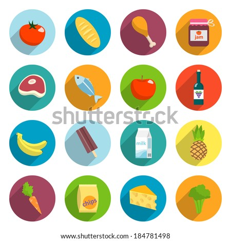 online supermarket foods flat