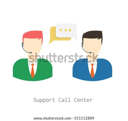 online support in headset with