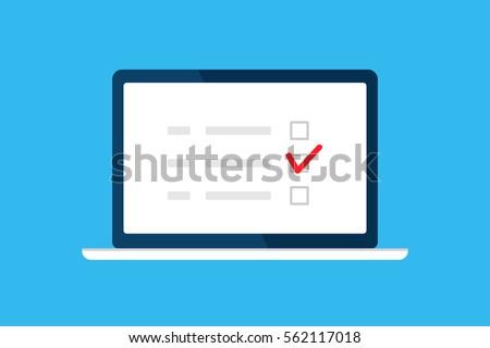 online survey  checklist
