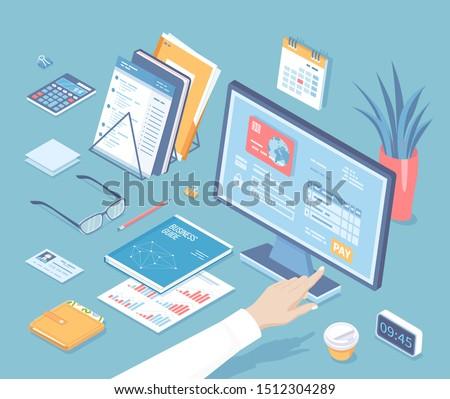 online tax payment via computer