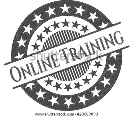 Online Training draw (pencil strokes)
