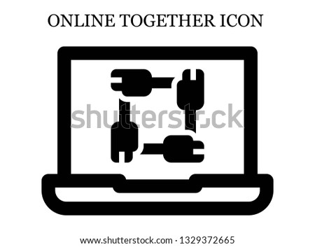 online Unity icon. Editable online Unity icon for web or mobile.