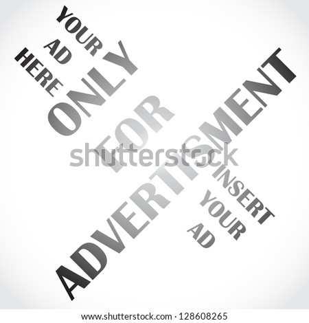 Only for ad, your ad here