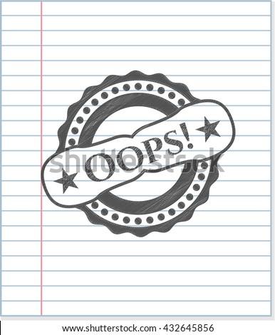 Oops! draw (pencil strokes)