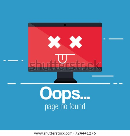 oops page no found concept