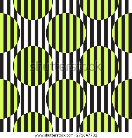 op art abstract black and