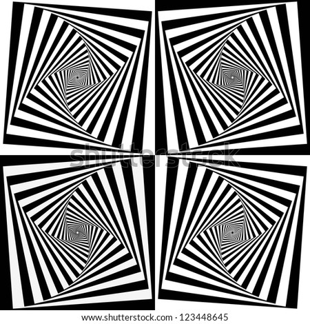 Ici postez vos images/photos de FRACTALES préférées - Page 10 Stock-vector-op-art-also-known-as-optical-art-is-a-style-of-visual-art-that-makes-use-of-optical-illusions-123448645