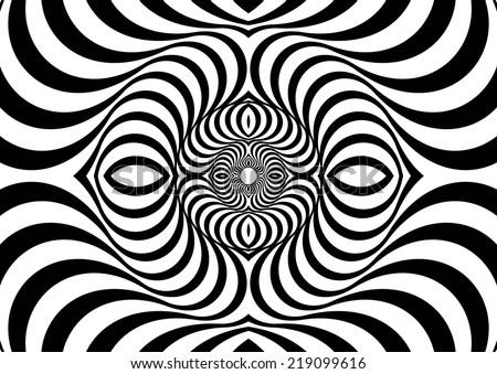 Optical Art Designs : Vixvex free vector of op art circles download
