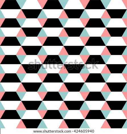 op art seamless geometric