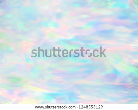 Opal gemstone background. Trendy Vector template for holiday designs, invitation, card, wedding, save the date.