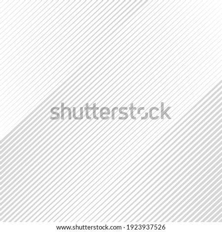 Opart abstract background with diagonal lines. Stylish monochrome striped texture with 3d effect. Modern vector design element. Сток-фото ©