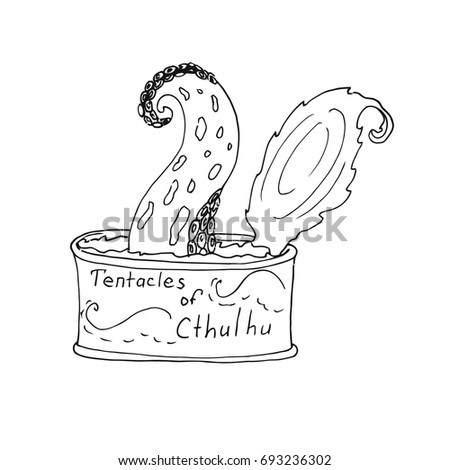 open a tin of cthulhu with