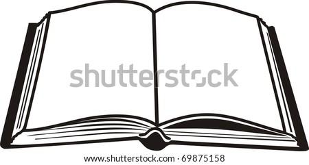 open book black