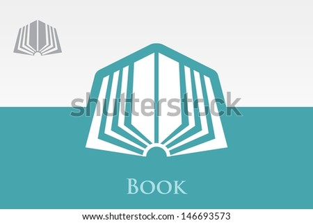 Open Book Icon Open Book Icon