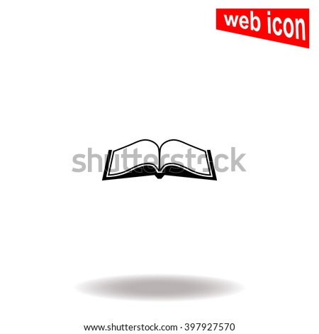 open book universal icon to