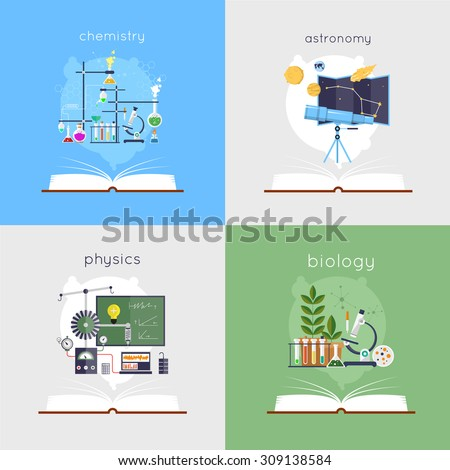 open book with tools for