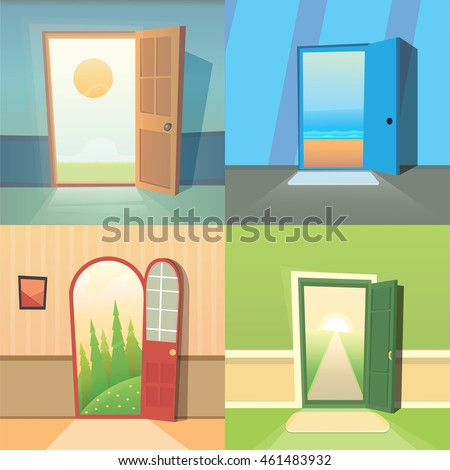 Free Open Gate Illustration Download Free Vector Art Stock