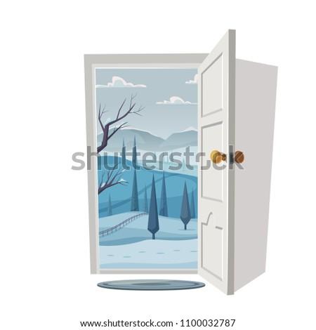 open door valley landscape